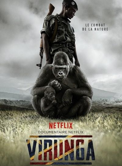 gorille,parc national de virunga,congo,film,netflix