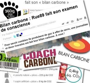 faites bilan carbone coach empreinte