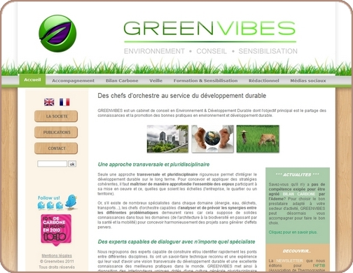 greenvibes conseil environnement